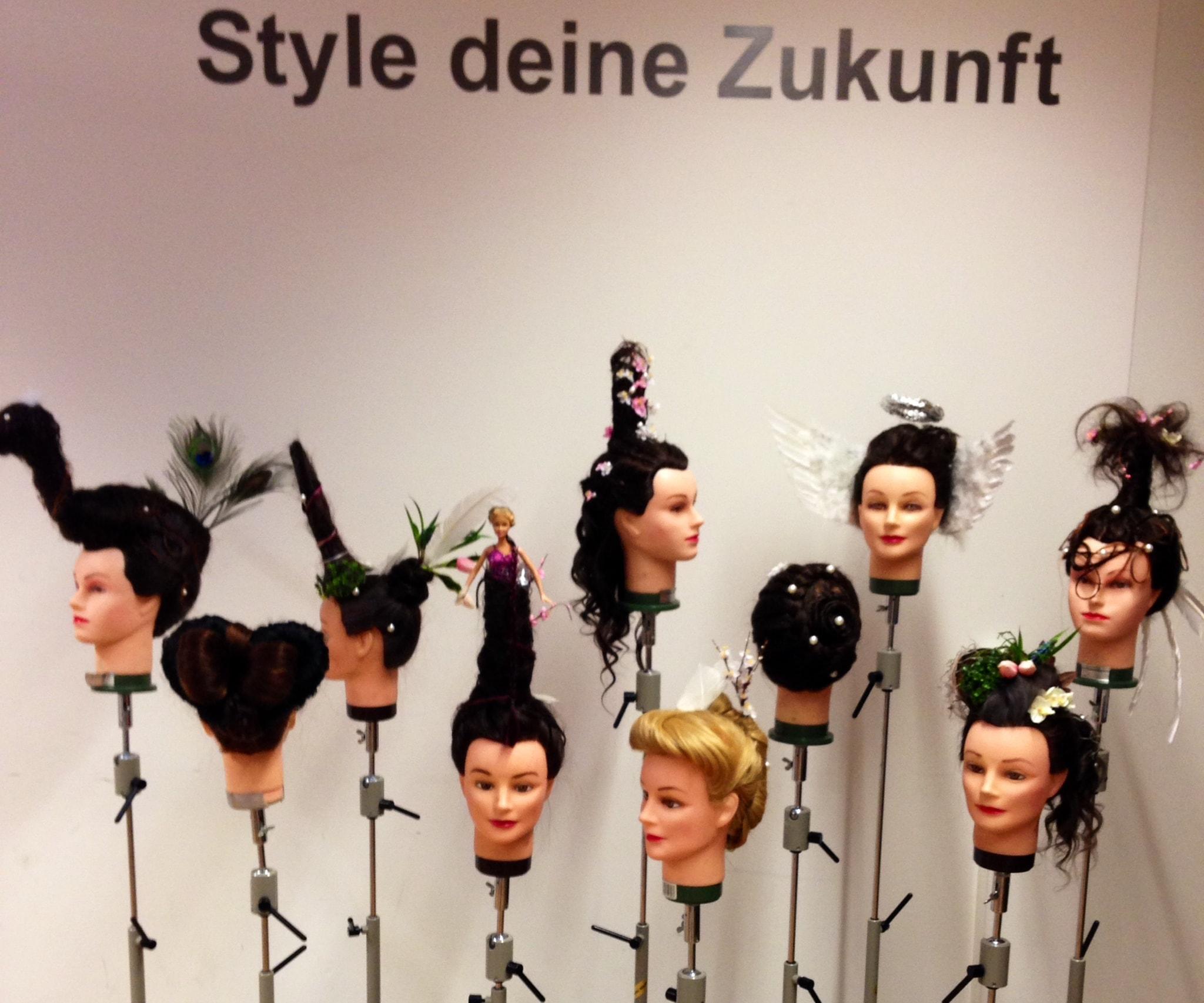 Kreative Frisuren Von Unseren Juniors Haar Werk Ch Ag